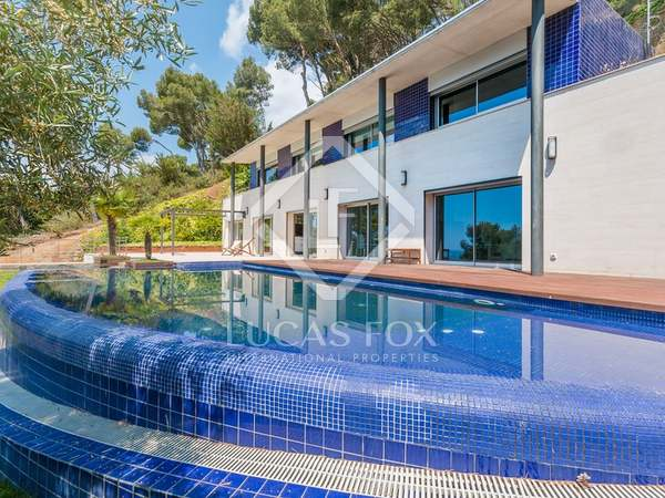 Modern style Costa Brava property for sale with sea views