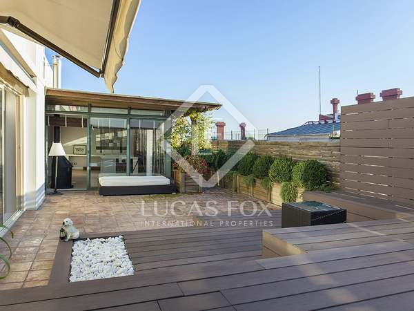 Penthouse for rent in Barcelona