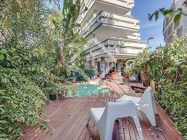 164 m² apartment with 120 m² garden for sale in Ibiza Town