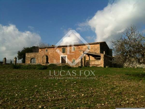 Country property for sale in the north of Mallorca.