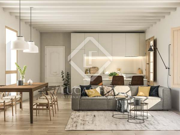 125 m² apartment with 80 m² terrace for sale in Gótico