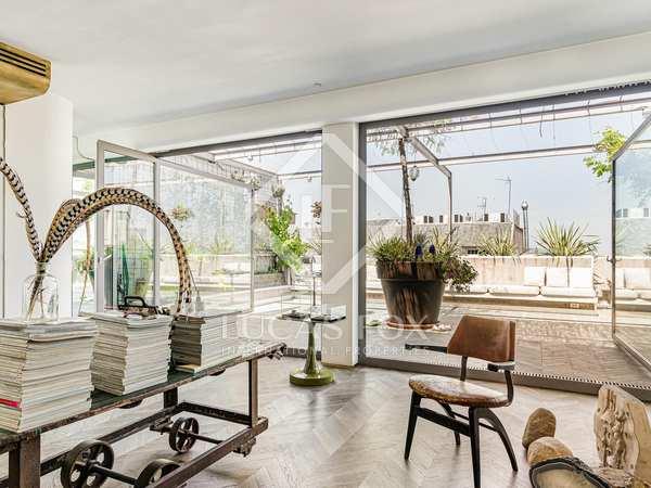 Penthouse van 114m² te koop met 63m² terras in Sant Gervasi - Galvany