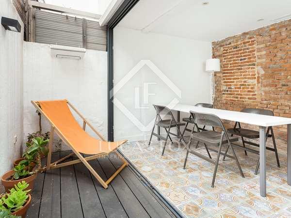 100m² Loft with 6m² terrace for rent in Turó Park