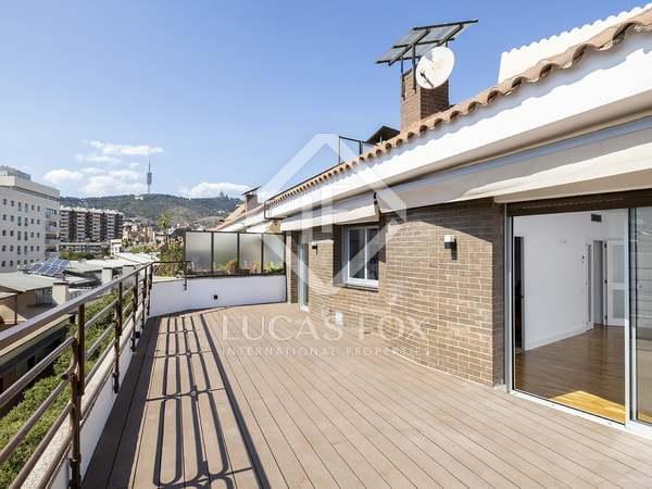 Пентхаус 142m², 44m² террасa аренда в Сарриа, Барселона