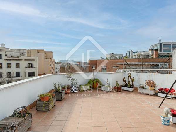 145m² Penthouse with 134m² terrace for sale in Poblenou