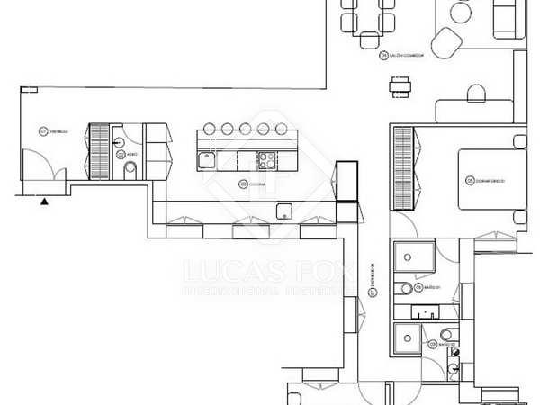 Appartement van 84m² te koop in Recoletos, Madrid