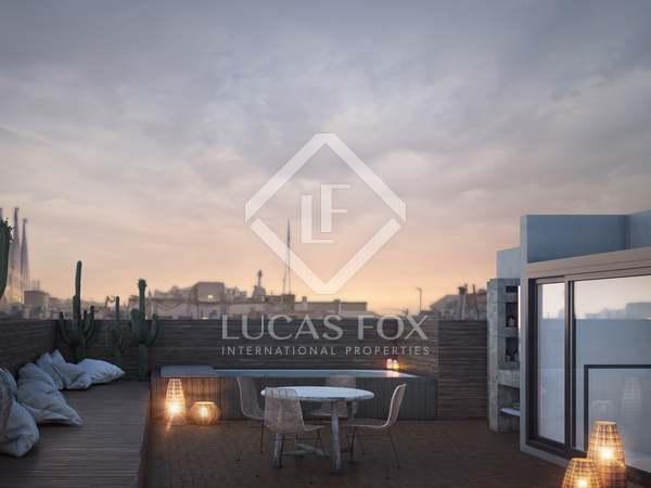 Penthouse van 158m² te koop met 70m² terras in Eixample Rechts