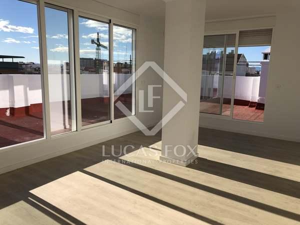 Ático con 85 m² terraza en alquiler en El Pla del Real