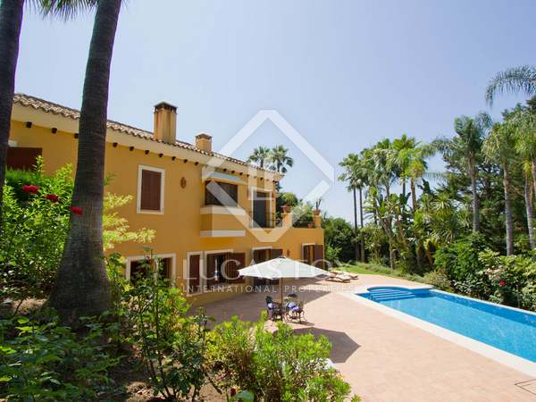 Golf front villa for sale in La Zagaleta, Marbella