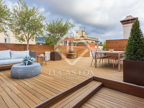 85 m² apartment with 130 m² terrace for sale in Sarrià