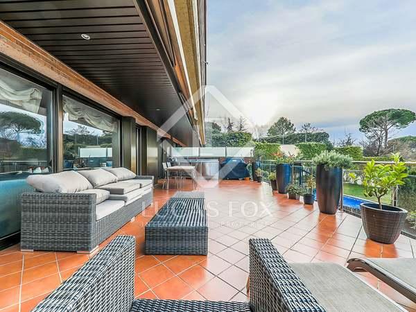 Piso de 374 m² con 84 m² de jardín en venta en Sant Cugat