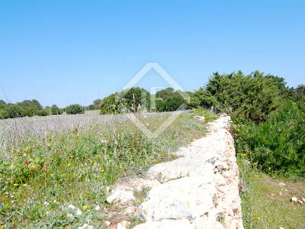 Parcela con vistas al mar con proyecto en venta, Formentera