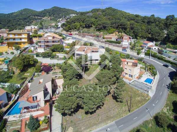 Parcel·la de 1,066m² en venda a Alella, Maresme