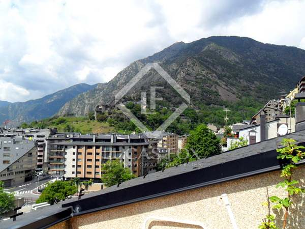 Duplex penthouse apartment for sale in Andorra. Escaldes area