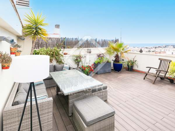 143m² Apartment with 75m² terrace for sale in Sitges Town