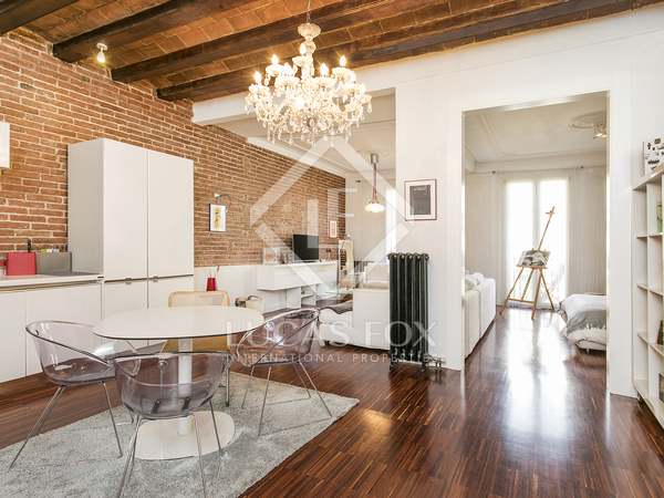 Loft apartment for rent in Eixample Left Barcelona
