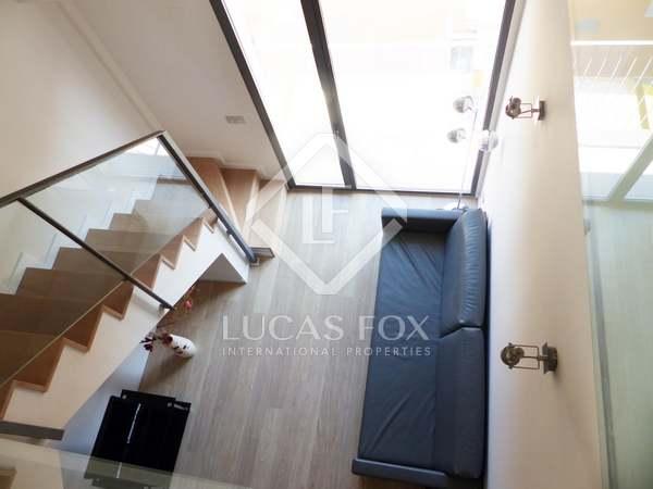 Ático dúplex de 1 dormitorio en venta en Valencia centro