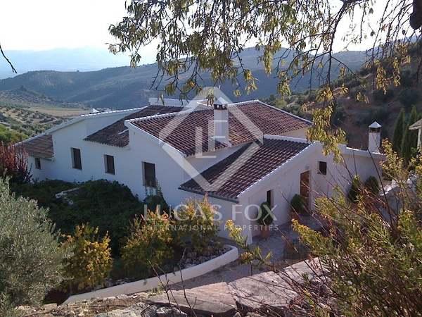 Casa rural andaluza en venta en Montefrío, Granada