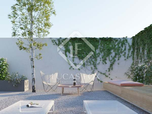 125 m² apartment with 120 m² garden for sale in Les Corts