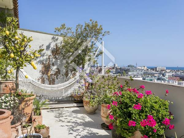 150 m² penthouse with 40 m² terrace for sale in Poblenou