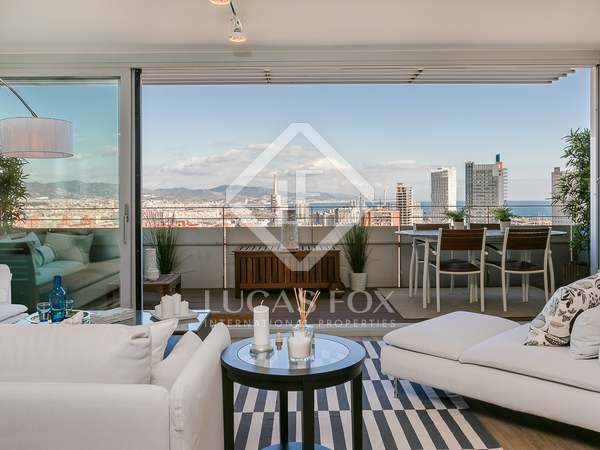 200m² apartment with 18m² terrace for sale in Diagonal Mar