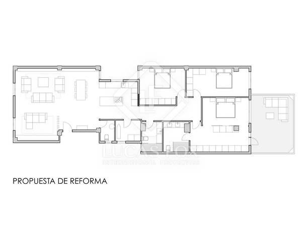 185m² Apartment for sale in Ruzafa, Valencia