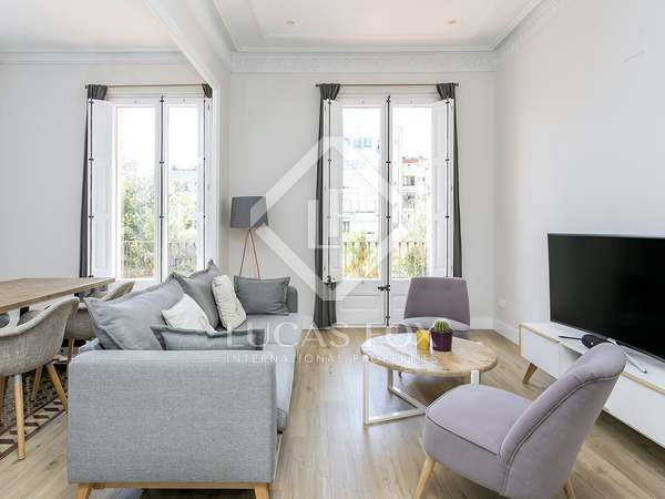 83m² Apartment with 7m² terrace for rent in Eixample Left