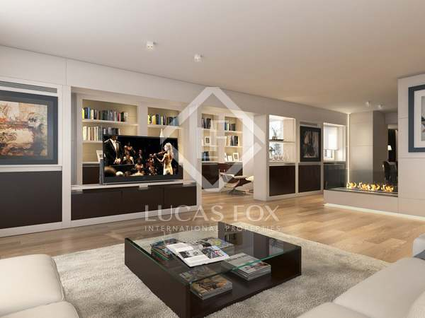 Duplex penthouse for sale in luxury new development in Almagro