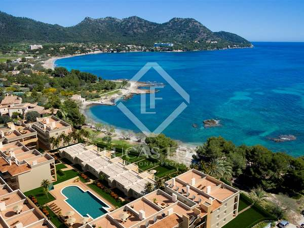 Apartments for sale in a first line development in East Mallorca