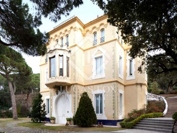 Palacete for sale in La Garriga, 35 minutes from Barcelona
