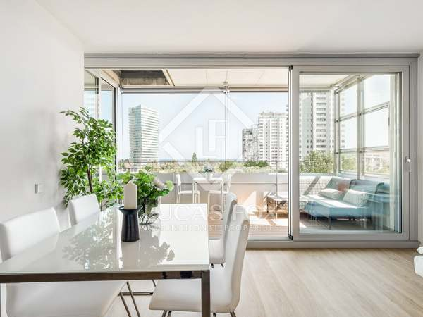 88m² Apartment with 10m² terrace for sale in Diagonal Mar