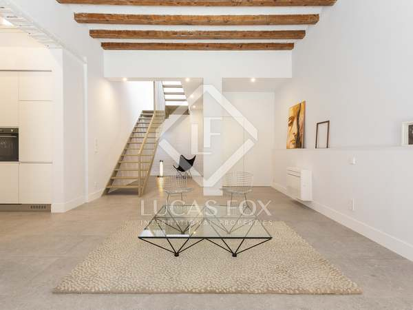 98 m² apartment with 33 m² terrace for sale in Sants