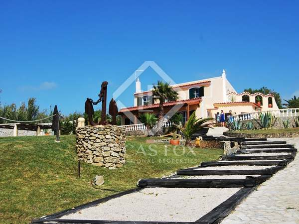5 bed sea view villa for sale within Sintra National Park
