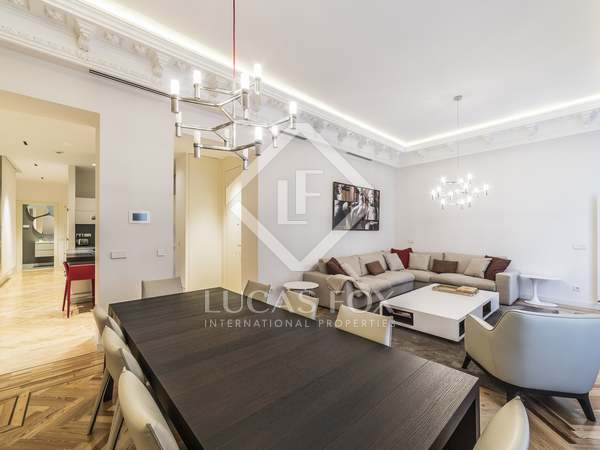 212m² Apartment for rent in Recoletos, Madrid