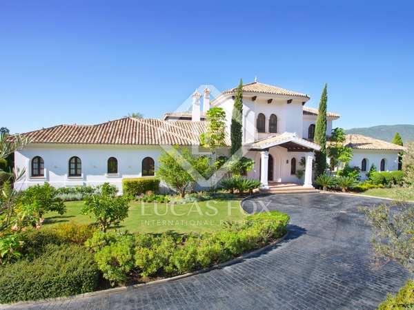 Impressive villa to buy in La Zagaleta, Marbella