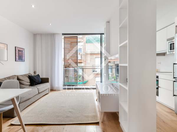 79 m² apartment with 21 m² terrace for sale in Sants