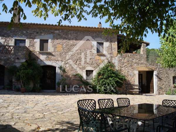 Girona country estate to buy. Emporda real estate for sale