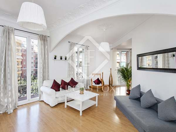 Furnished apartment to rent in Eixample of Barcelona