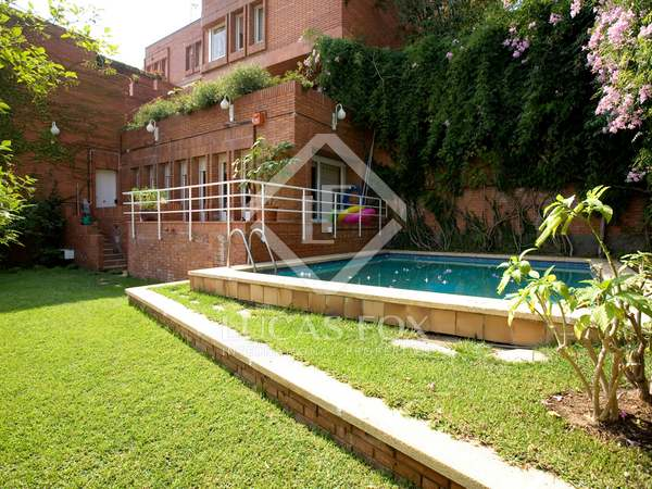 House for sale in Barcelona's exclusive Zona Alta