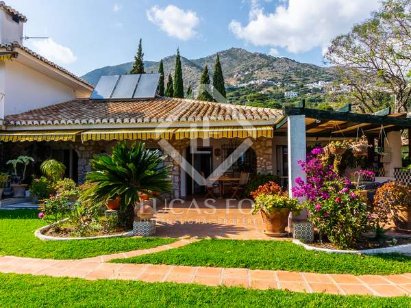 Extensive country estate for sale close to Mijas village