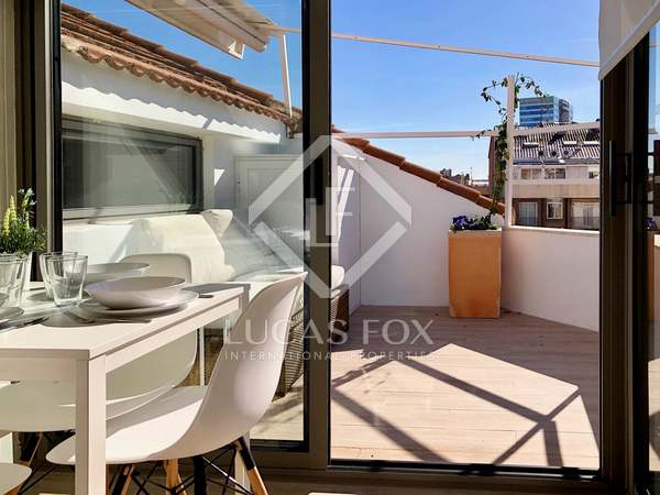 Penthouse de 25m² a louer à Turó Park avec 7m² terrasse