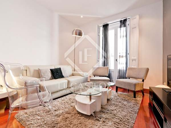80 m² apartment for rent in Cortes / Huertas, Madrid