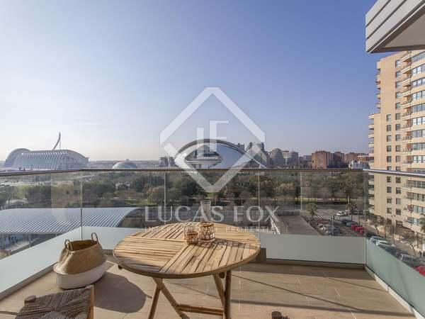 90m² Apartment with 7m² terrace for rent in Ciudad de las Ciencias