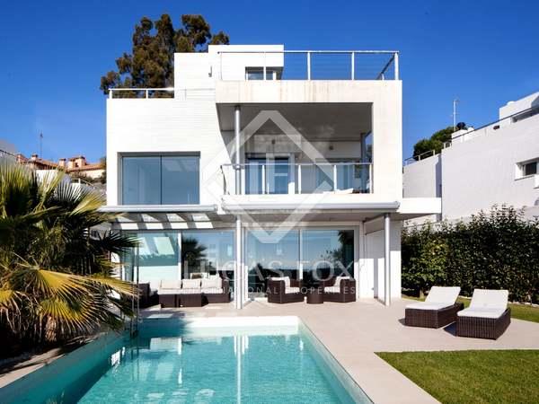 Modern villa for sale in Vilassar de Dalt, Maresme Coast, Spain