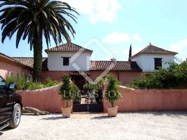 Reitimmobilie zum Verkauf, nahe Sotogrande, Andalucía