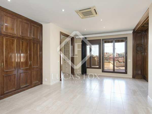 280m² Takvåning med 120m² terrass till uthyrning i Sant Gervasi - La Bonanova