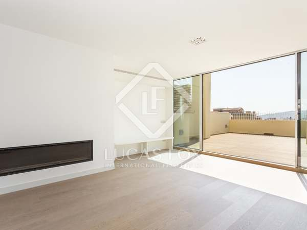 193m² Dachwohnung mit 62m² terrasse zum Verkauf in Turó Park