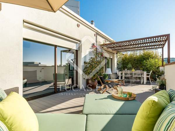 48m² Apartment with 58m² terrace for sale in Poblenou