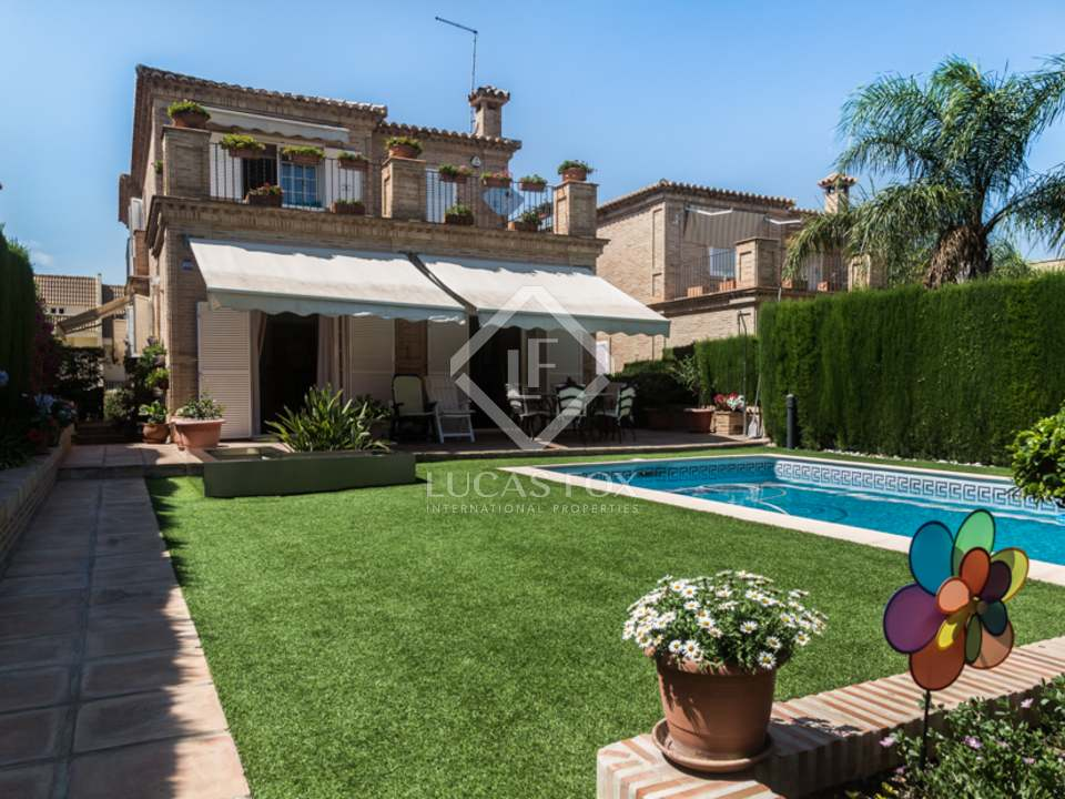 Villa en venta en godella cerca de valencia espa a for Piscina de godella