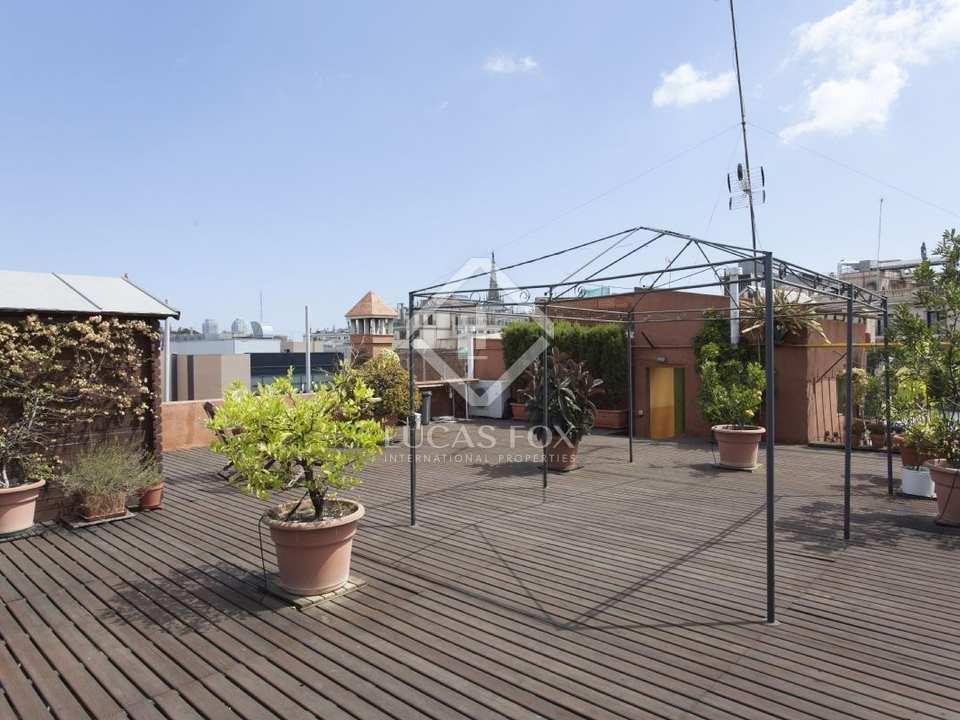 Apartamento con terraza privada en venta en el casco - Casco antiguo de barcelona ...